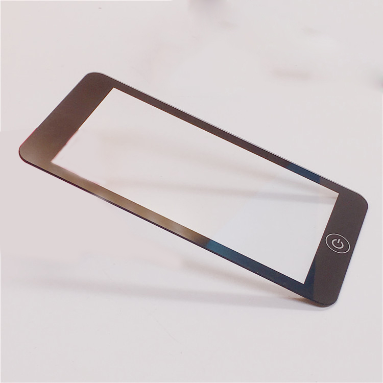 Customized 0.5mm 0.7mm 1.1mm 2.0mm Tempered Glass Cover Lens