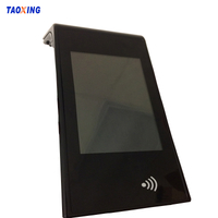 OEM Custom Black And White Silk Screen Printing Tempered Glass For Screen Protector