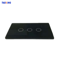 Scratch Resistant Toughened Glass Screen Printing Touch Switch Panel